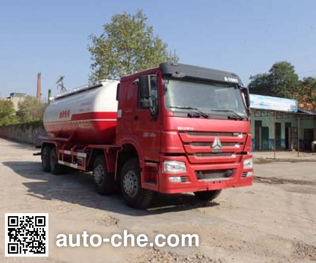 Sanji JSJ5318GXH4 pneumatic discharging bulk cement truck