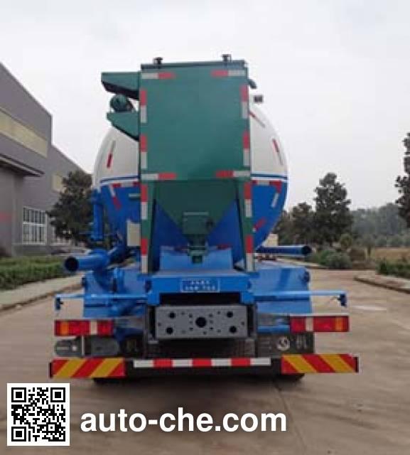 Sanji JSJ5318GXH5 pneumatic discharging bulk cement truck