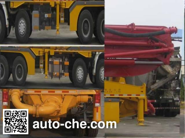 Qite JTZ5420THB concrete pump truck