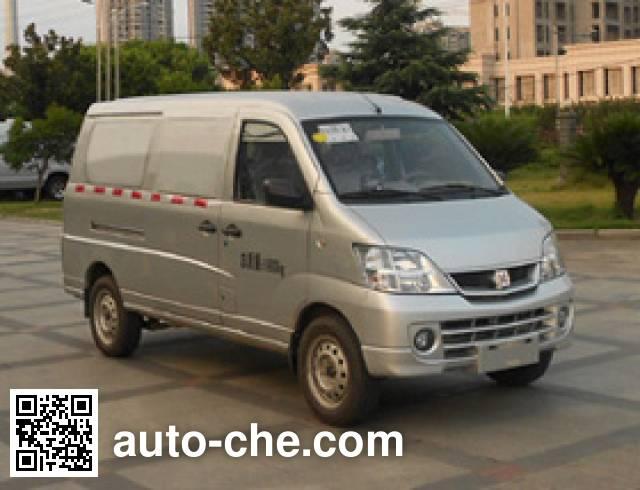 江铃牌JX5020XXYMEV纯电动厢式运输车