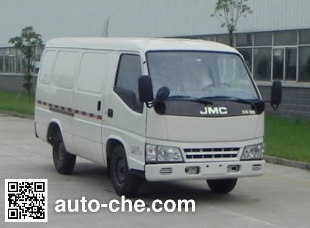 江铃牌JX5030XXYMEV纯电动厢式运输车