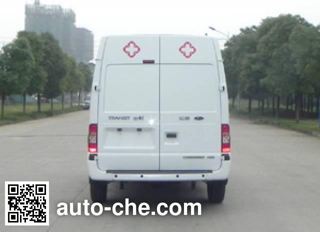 JMC Ford Transit JX5039XLLMB cold chain vaccine transport medical vehicle