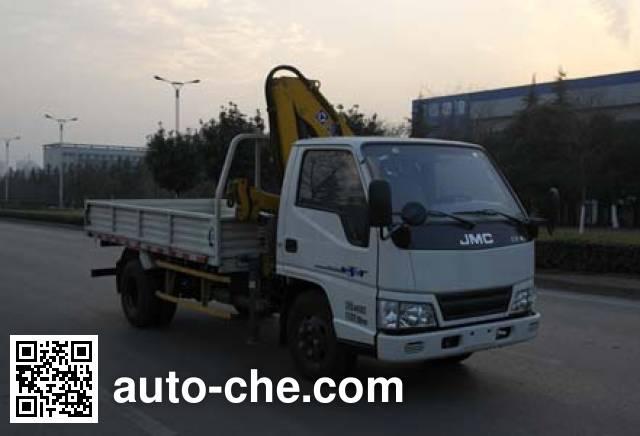 JMC JX5044JSQXG2 truck mounted loader crane