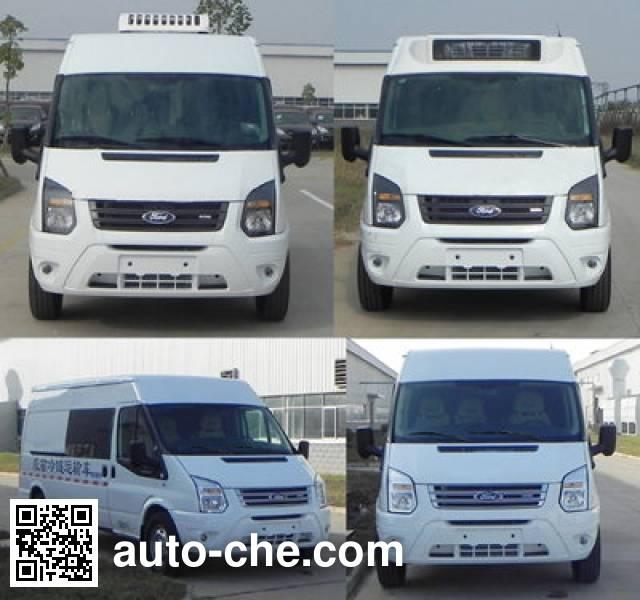 JMC Ford Transit JX5049XLLMK1 cold chain vaccine transport medical vehicle