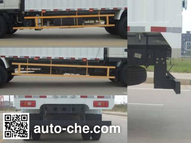 JMC JX5094CPYXPP2 soft top box van truck