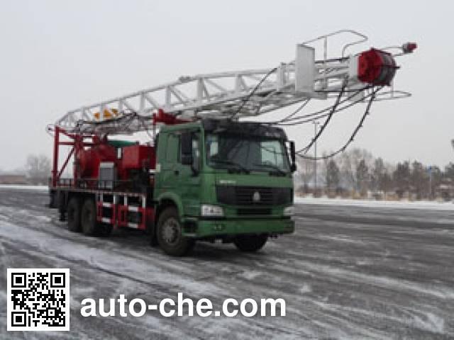 Qingquan JY5253TXJ40 well-workover rig truck