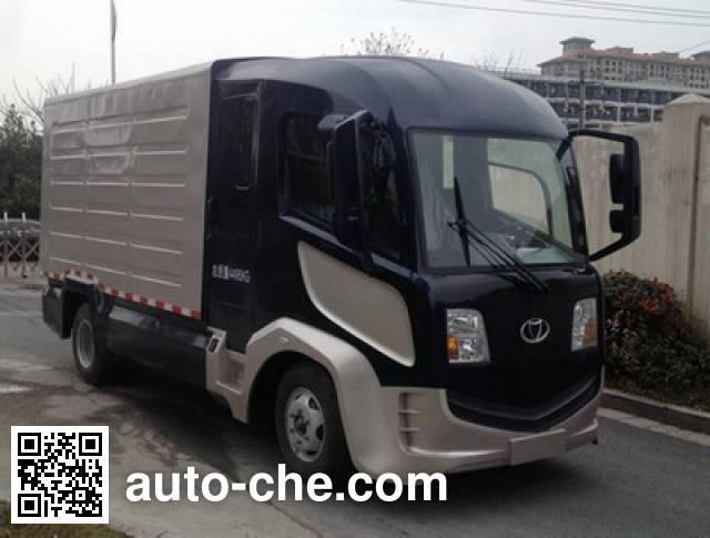 康迪牌KD5040XXYJBEV纯电动厢式运输车
