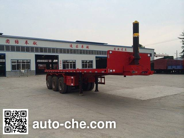 Jinduoli KDL9400ZZXP flatbed dump trailer