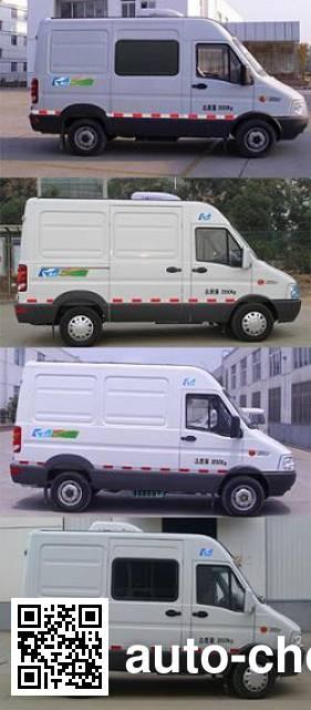 康飞牌KFT5041XLC4A冷藏车