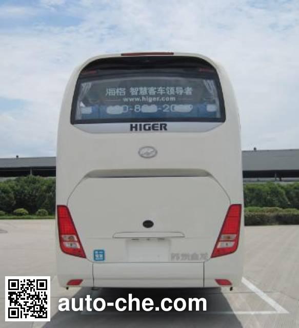 海格牌KLQ6112LDHEVE51E混合动力客车