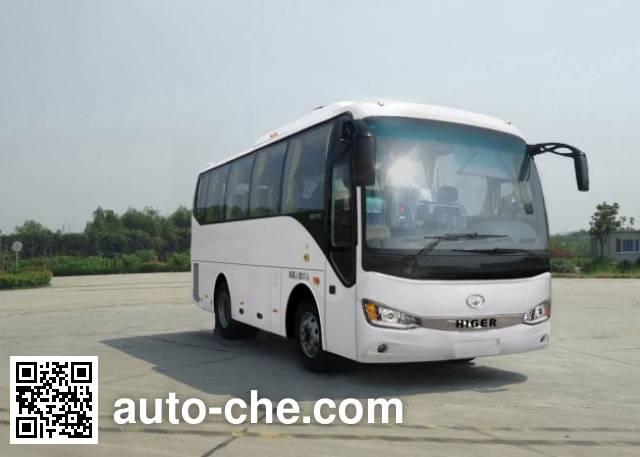 海格牌KLQ6902KAHEVE51混合动力客车