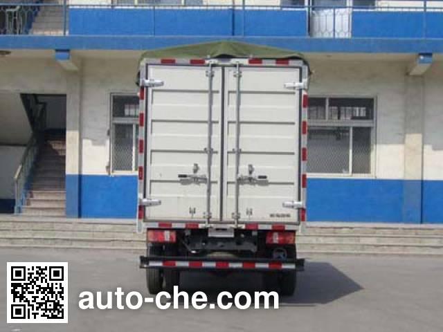 Kama KMC5040CPY28D4 soft top box van truck