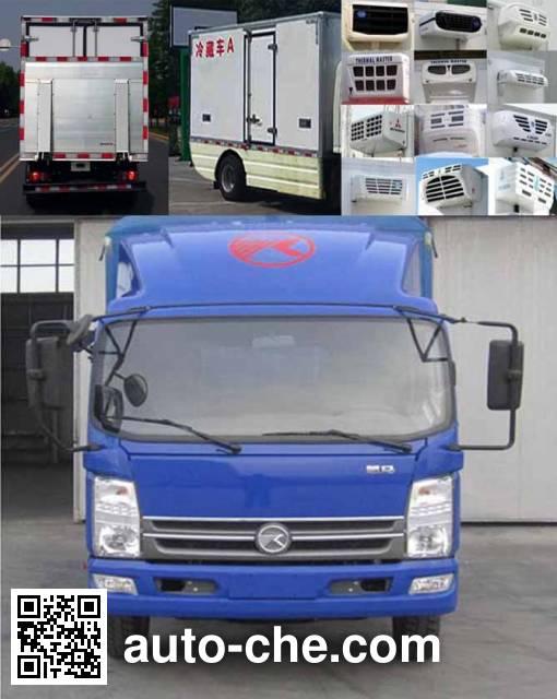 Kama KMC5042XLCEVA33D electric refrigerated truck