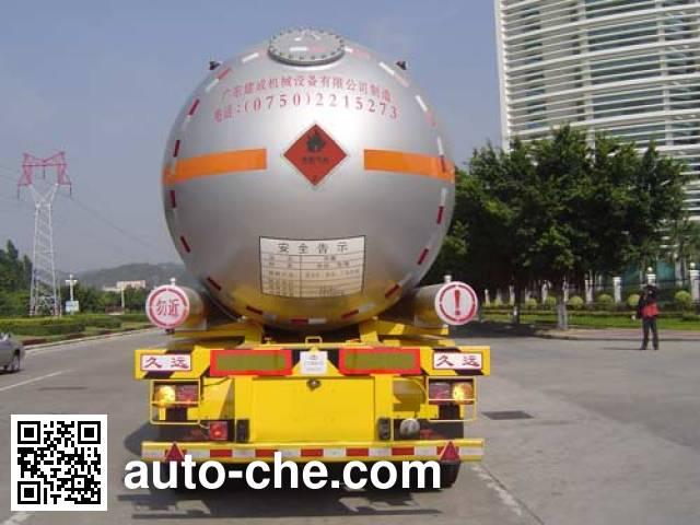 Jiuyuan KP9405GYQ liquefied gas tank trailer