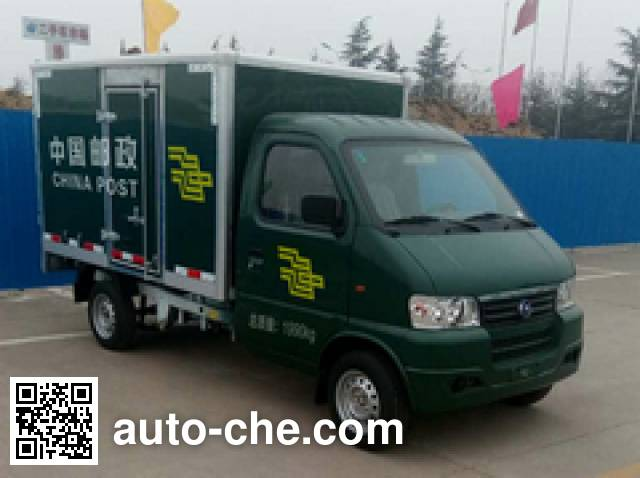 Jihai KRD5022XYZBEV01 Electric postal van on KRD1122DEV chassis