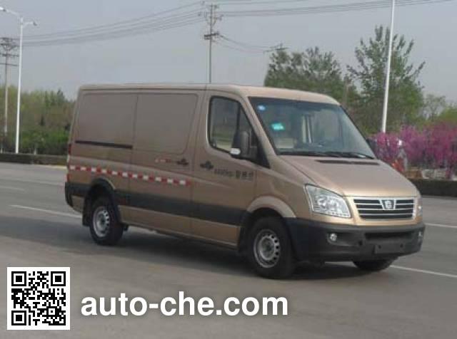 中通牌LCK5042XXYEV3纯电动厢式运输车