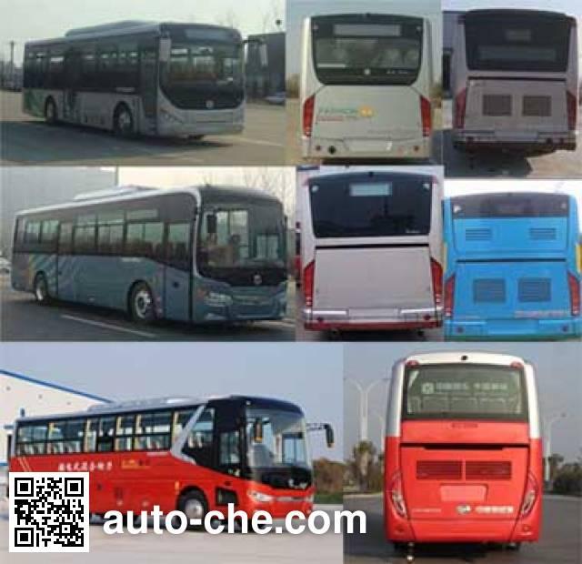 中通牌LCK6107PHEVG插电式混合动力城市客车