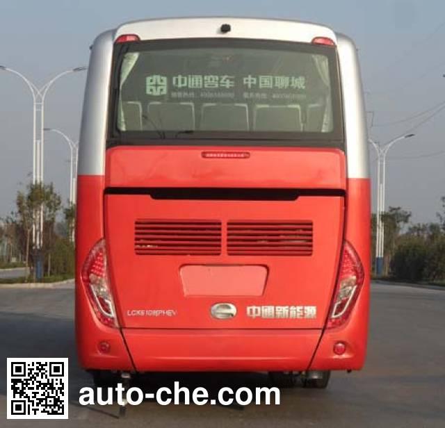 中通牌LCK6109PHEV5Q插电式混合动力客车