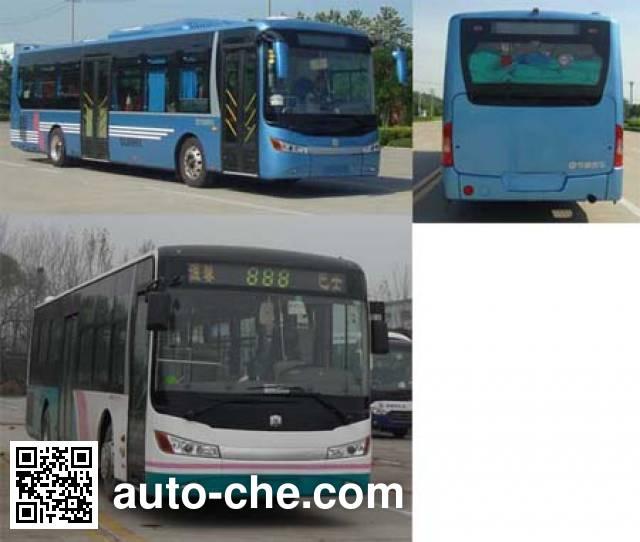中通牌LCK6112HEV混合动力城市客车