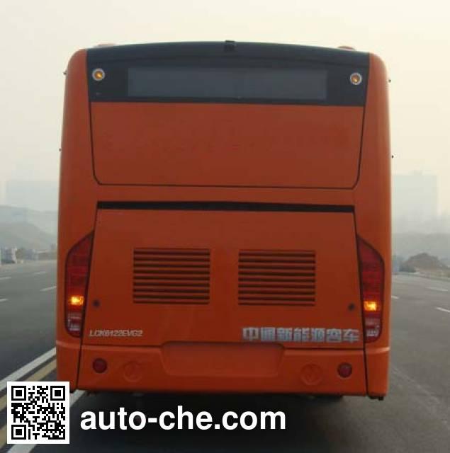 中通牌LCK6122EVG纯电动城市客车