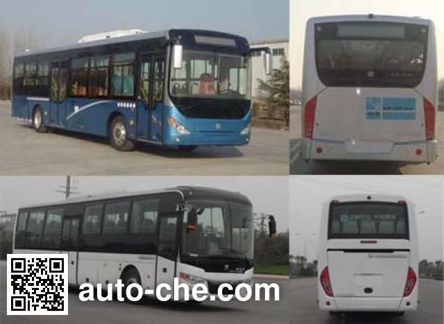 中通牌LCK6123CHEV混合动力城市客车