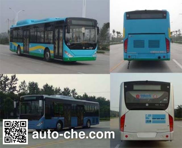中通牌LCK6126PHENV混合动力城市客车