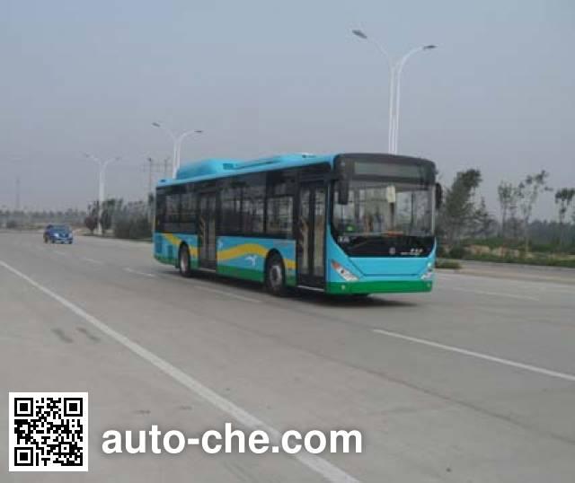 中通牌LCK6127PHEVNC插电式混合动力城市客车