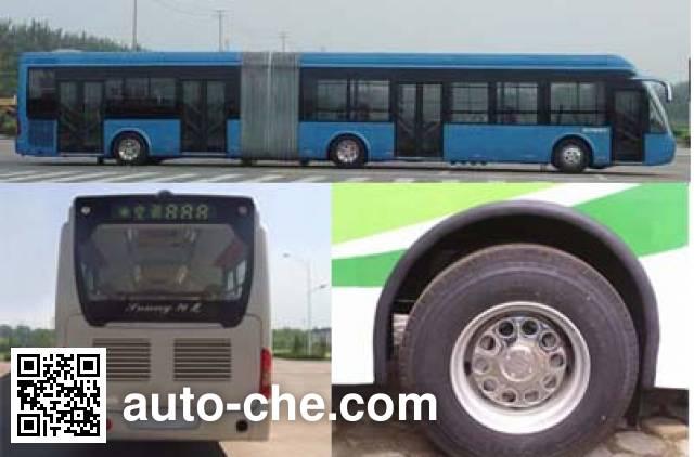中通牌LCK6180HQGN铰接式城市客车