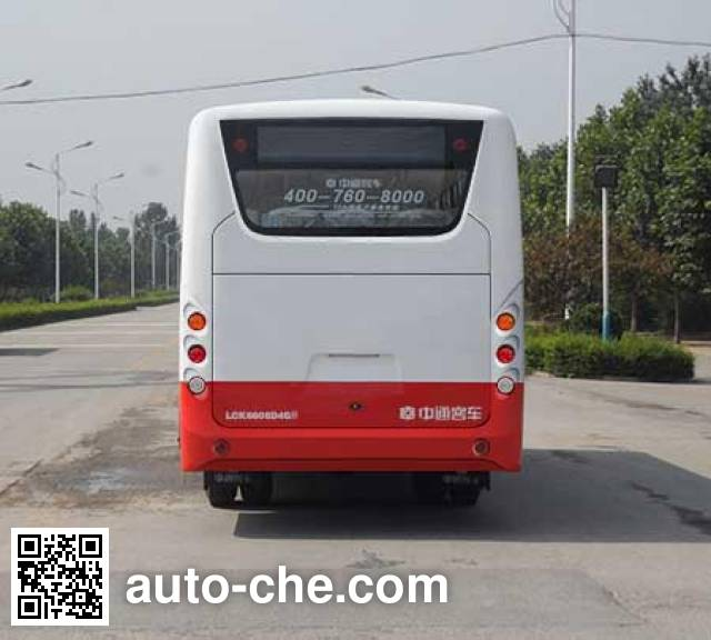 中通牌LCK6606D5GH城市客车