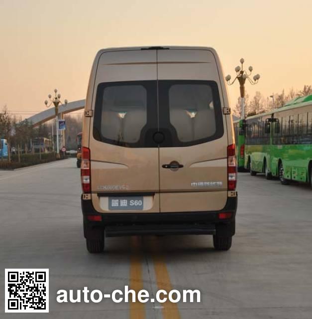中通牌LCK6606EVG3纯电动城市客车