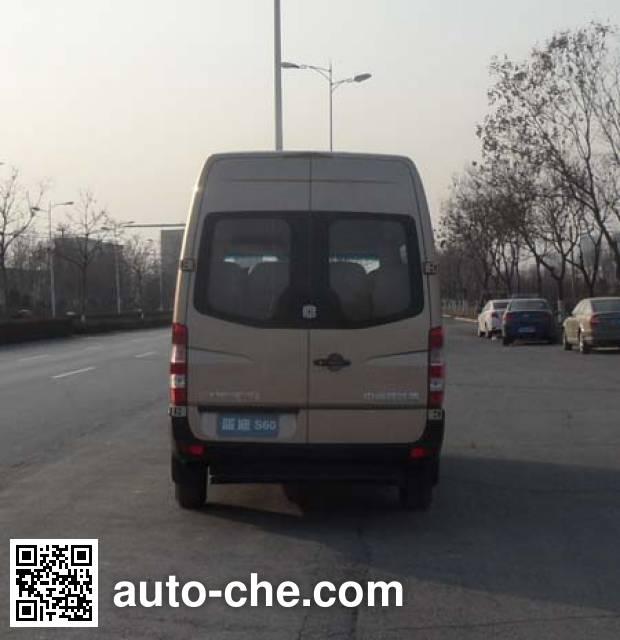 中通牌LCK6609EV6纯电动客车