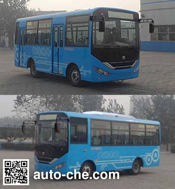 中通牌LCK6667EVG纯电动城市客车