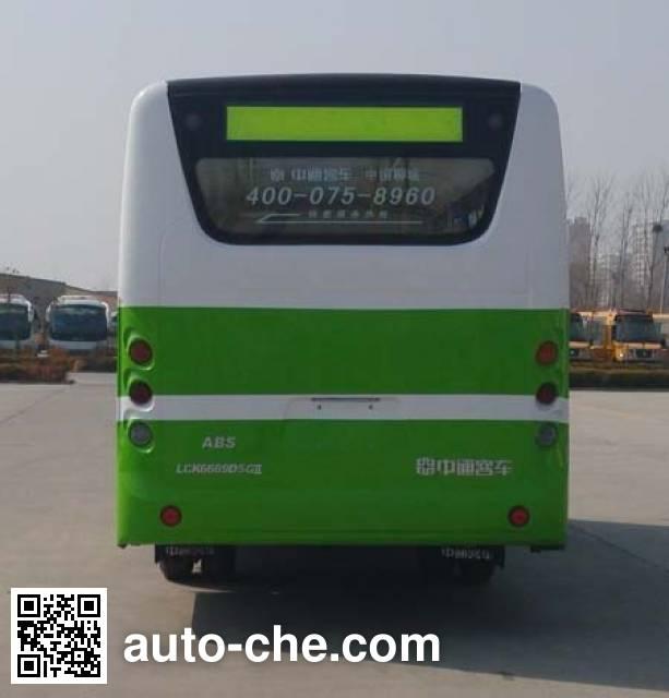 中通牌LCK6669D5GH城市客车