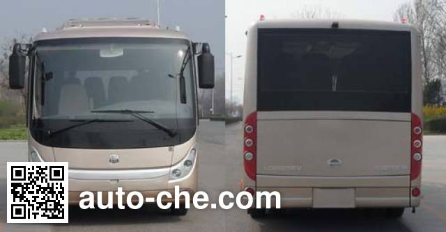 中通牌LCK6670EV纯电动客车