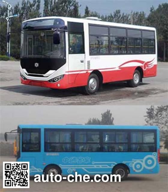 中通牌LCK6722D4GE城市客车