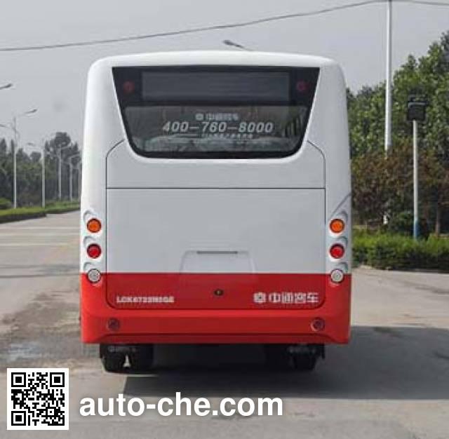 中通牌LCK6722N5GE城市客车