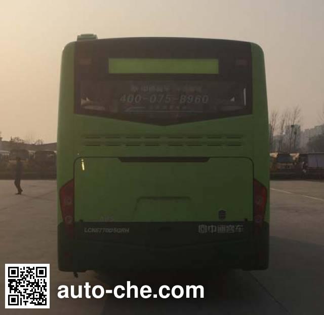 中通牌LCK6770D5GRH城市客车
