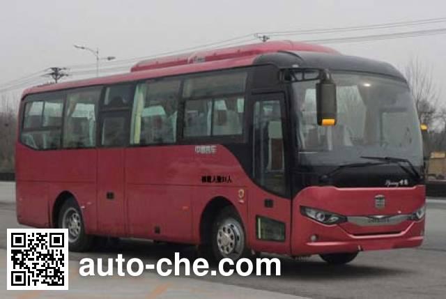 中通牌LCK6808EV纯电动客车