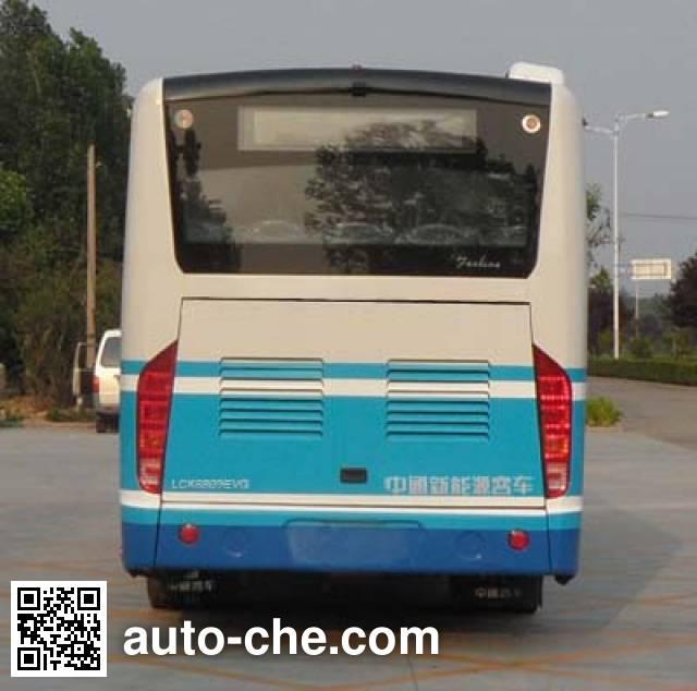 中通牌LCK6809EVG2纯电动城市客车