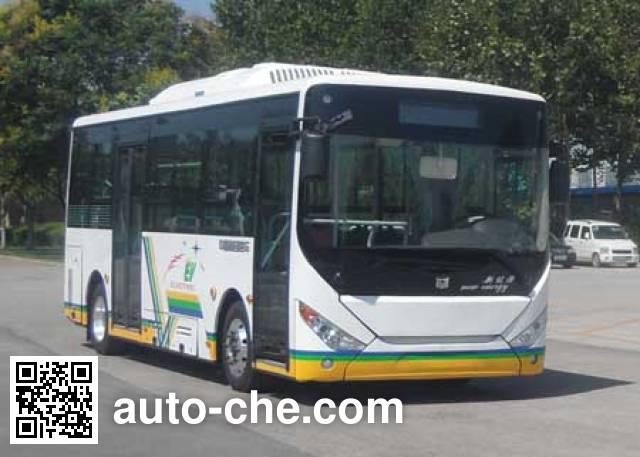 中通牌LCK6809EVG11纯电动城市客车