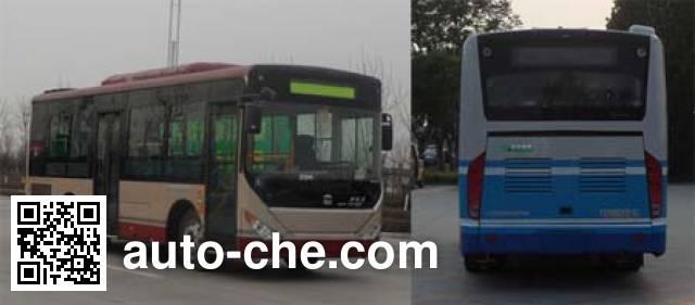中通牌LCK6820PHEVG混合动力城市客车