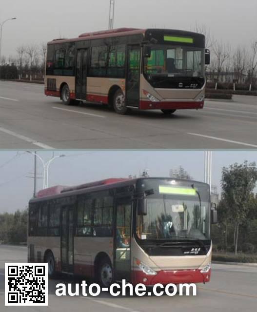 中通牌LCK6820PHEV5QG混合动力城市客车
