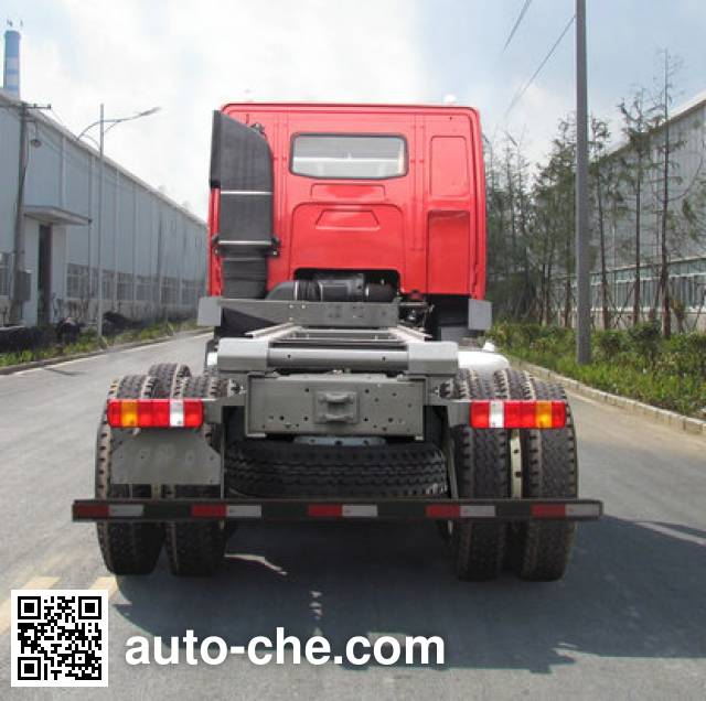 Geaolei LFJ3255G11 dump truck chassis