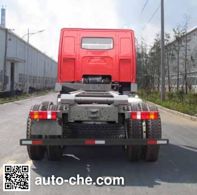 Geaolei LFJ3315G10 dump truck chassis