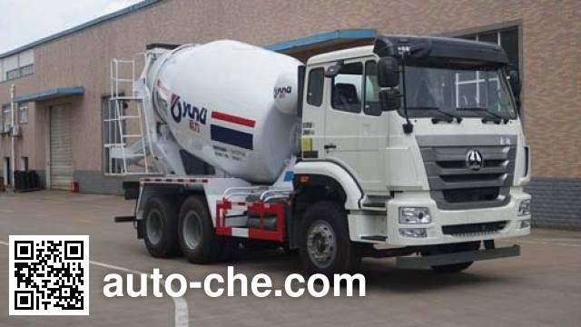 运力牌LG5255GJBZ5混凝土搅拌运输车
