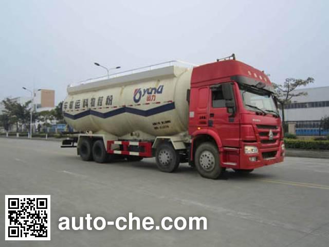 运力牌LG5310GFLZ4低密度粉粒物料运输车