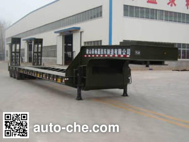 杨嘉牌LHL9406TDP特种低平板半挂车