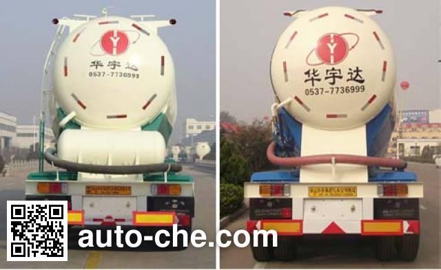 华宇达牌LHY9403GFLA中密度粉粒物料运输半挂车