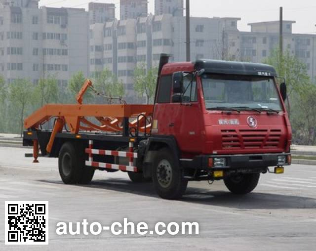 兰矿牌LK5160ZBG背罐车