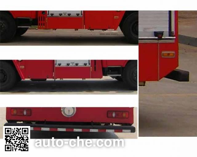 Tianhe LLX5164GXFPM60/T foam fire engine